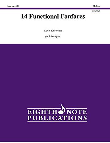 Alfred 81-te15242 14 functional fanfares