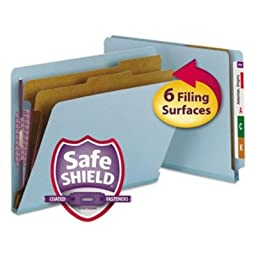 SMD26781 - Smead Pressboard End Tab Classification Folders
