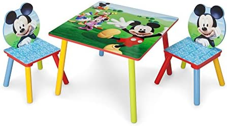 Stupendous Delta Children Kids Table And Chair Set 2 Chairs Included Disney Mickey Mouse Evergreenethics Interior Chair Design Evergreenethicsorg