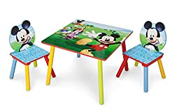 Delta Children Table & Chair Set, Disney Mickey Mouse
