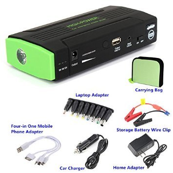 40000mAh generator vehicle Jump Starter excessive CAPACITY potential Bank Battery USB simple holiday Charger moveable things Laptop Smartphones iPhone Android Jump Start Vehicle Emergency SOS Flashlight Auto Huge Capacity 30000mAh 38000mAh potential Wall Chargers