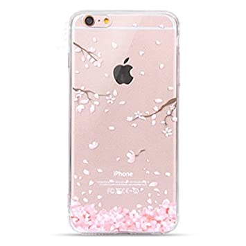 coque iphone 7 fleur transparent