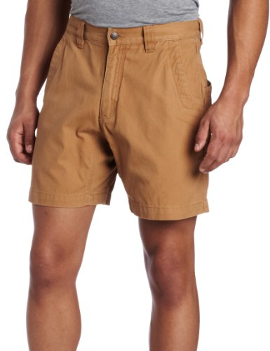 7 Inseam Short (Mountain Khakis Men's Alpine Utility Short Relaxed Fit, Ranch, 7 Inseam/36)