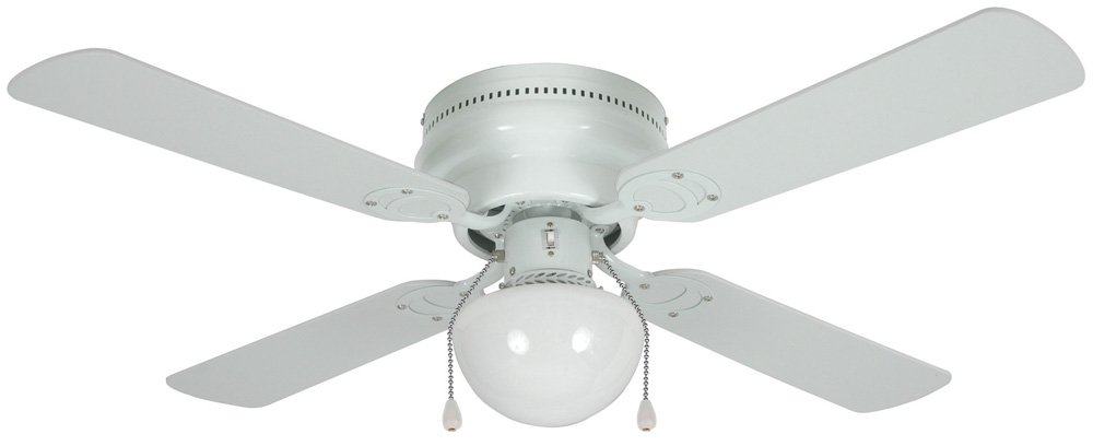 Hardware House 543611 Aegean FlushMount 42Inch Ceiling Fan with