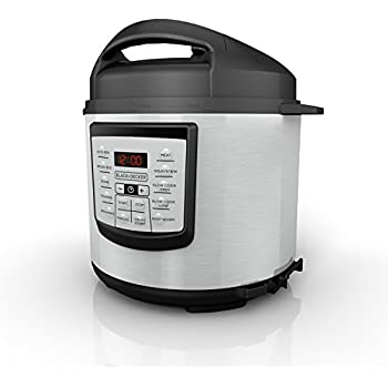 Amazon nuwave 6qt nutripot digital pressure cooker with bonus rhamazon, slow cooker wiring diagram blackdecker 6 quart 11in1 cooking pot stainless steel pressure cooker slow cooker multicooker pr100stamazon