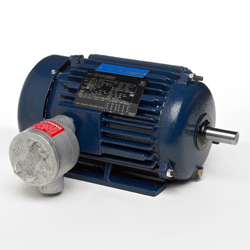 Marathon Electric U007A - Explosion Proof/Hazardous Location Motor - 3 ph, 10 hp, 1800 rpm, 208-230/460 V, 215T Frame, EPFC Enclosure, 60 Hz - Location Hazardous Motor
