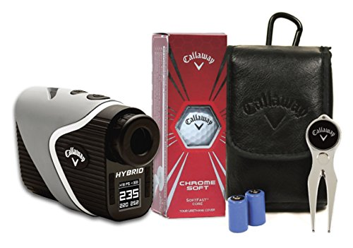 Callaway Hybrid Laser-GPS Rangefinder, with Power Pack