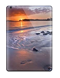 Anti-scratch And Shatterproof Awesome Sunset Screensavers Phone Case For Ipad Air/ High Quality Tpu Case