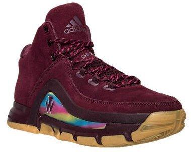 wholesale dealer 1d6ed 321e8 ... wholesale adidas j wall 2 basketball shoes maroon bold pink gum john  0880f 0ed5b