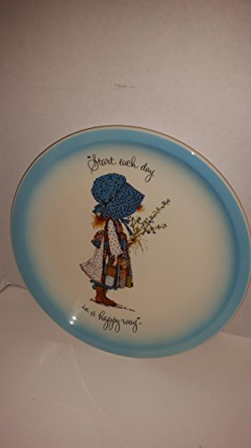 american-greetings-holly-hobbie-collector-plate-start-each-day-in-a-happy-way