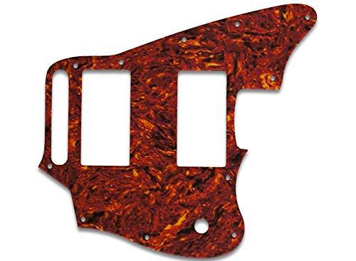(Pickguard For Fender Blacktop Series Jaguar - TORTOISE, PARCHMENT)