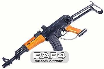 Amazon Com Rap4 T68 Ak47 Krinkov Paintball Gun Sports Outdoors