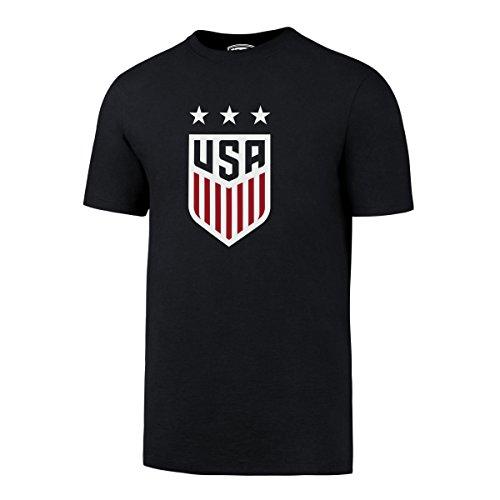 Us Soccer T-shirts (World Cup Soccer United States Men's OTS Rival Tee, Fall Navy-US Women, Medium)