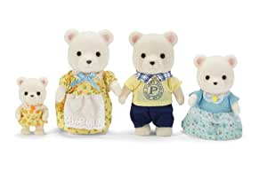 Calico Critters Polar Bear Family Playset(Discontinued by manufacturer)