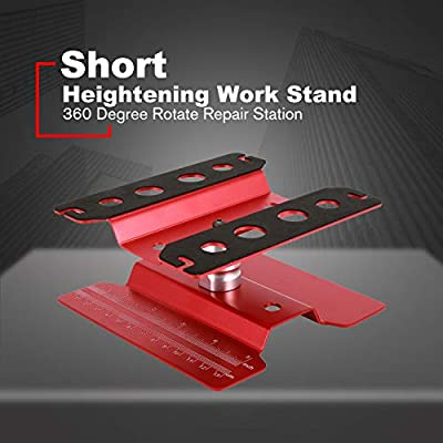 Heightening Work Stand Assembly Platform for RC 1//8 1//10 Traxxas SCX10 HSP Red