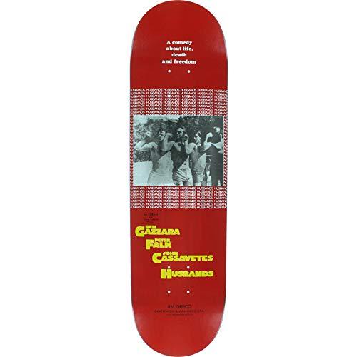 アブセイプロテスタントアートDeathwish Skateboards Jim Greco Dedicationレッドスケートボードデッキ – 8