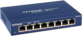 Netgear ProSAFE GS108 8-Port Gigabit Desktop Switch