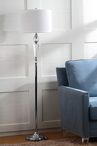 Safavieh Lighting Collection Savannah Clear 60.25-inch Floor Lamp