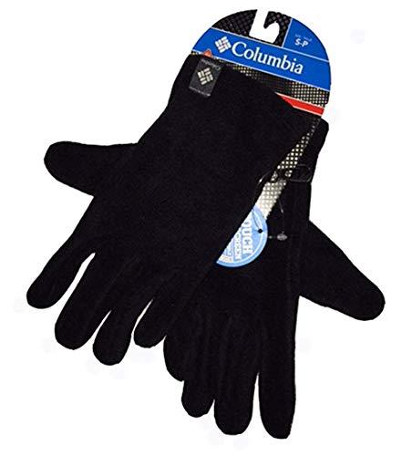 Columbia Men Agent Heat II Thermal Reflective Omni-Heat Fleece Winter Gloves (L, Black)