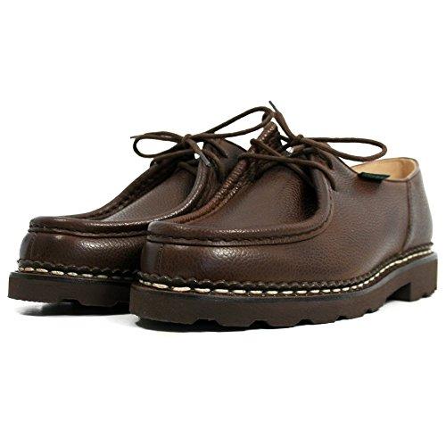 Paraboot Chambord/Marche II Marron Ebene Grain Lace Up braun Herren Leder Schuhe 42 EU/8 UK