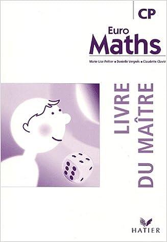 Euro Maths Cp Livre Du Maitre Peltier Vergnes Clav