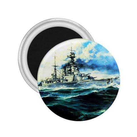 - Battle Cruiser Hms Hood Souvenir Magnets