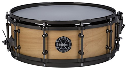ddrum MAXSD5X14SN Marching Tom Satin Natural by Ddrum