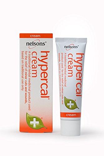 Hypercal Cream - Natural First Aid for Cuts & Grazes PL - R - (30 Gram Calendula Cream)