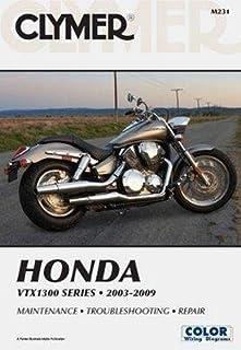 amazon com clymer repair service manual honda vtx1800 02 08 rh amazon com Honda Motorcycle 2009 VTX 1800 1981 Honda GL500 Silver Wing