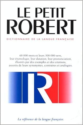 """Résultat de recherche d'images pour """"dictionnaire robert"""""""