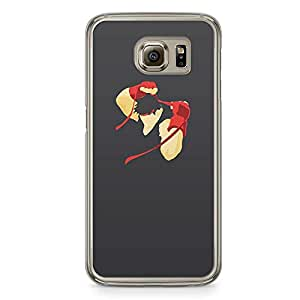 Loud Universe Black Ryu Style Samsung S6 Case Street Fighter Samsung S6 Cover with Transparent Edges
