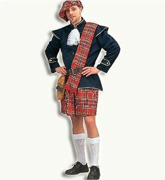 Traje Tradicional Escocés para M, Boina, banda, cinturón ...