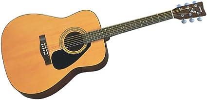 Yamaha F-310 acústica con cuerdas de acero Folk Guitarra, Semi ...