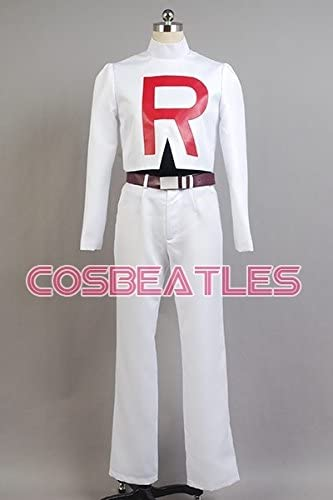 Pokemon Team Rocket James cosplay disfraz: Amazon.es: Ropa y ...