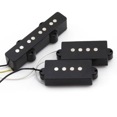 DN Jazz Bass Bridge Pickup And Precision Bass Pickups For 4 String Bass by ND