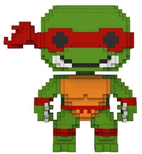 Funko pop 8 bit de la Tortuga Ninja Rafaelo