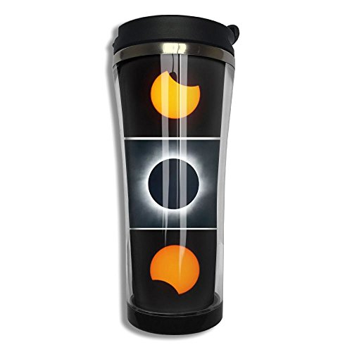 Shannon Brownrices Stainless Steel Tumbler Mugs Total Solar Coffee Cup Water Bottle 15oz Customed,Hot & Cold by Shannon Brownrices