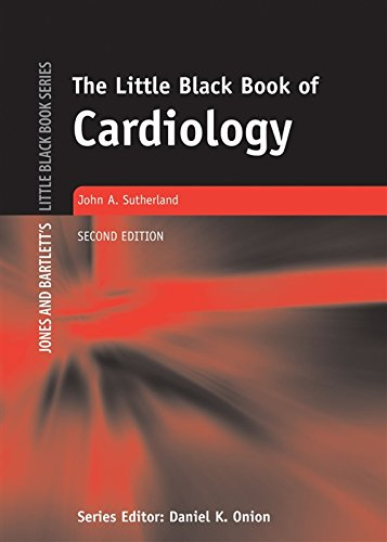 The Little Black Book of Cardiology (Jones And Bartlett's Little Black Book  Series)