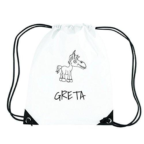 JOllipets GRETA Turnbeutel Sport Tasche PGYM5395 Design: Pferd 3LL2H