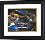 Sugar Shane Mosley signed Boxing 8x10 Photo Custom Framed vs Manny Pacquiao - Autographed Boxing Photos
