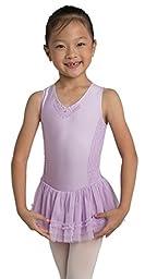 Children\'s Sleeveless Dance Dress in Lavender (8-10)