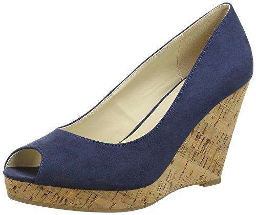 Another Pair of Shoes Wera K1 - Sandalias de Punta Descubierta para Mujer Azul (Denim Blue 675)