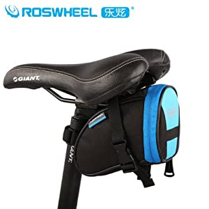 Roswheel ロスホイール サドルバッグ 自転車 サイクリング かんたん装着