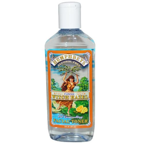 Witch Hazel Remedies Homeopathic (Humphrey's Witch Hazel Facial Toner, Citrus, 8 Ounce)