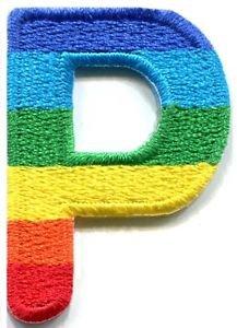 Letter P Rainbow English Gay L...