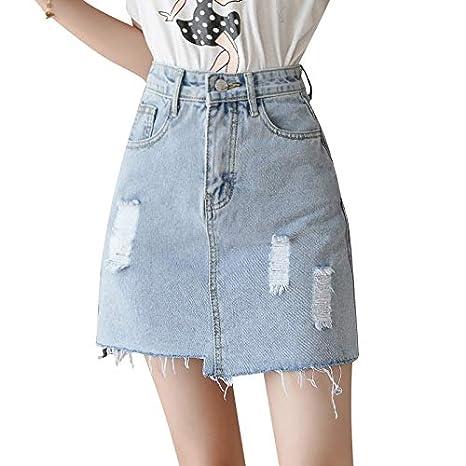 DER Summer 2019 - Falda de Cadera para Mujer (versión Coreana de ...