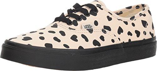 Vans Authentic (Cheetah Hearts) Sand Dollar Girls (12.5 M US Little Kid) -