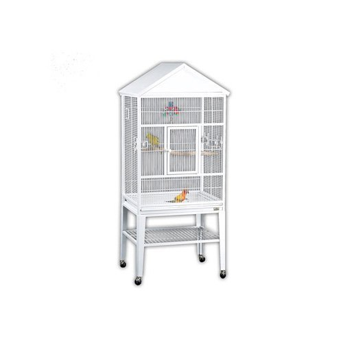 Avian Adventures Loro Flight Cage, White