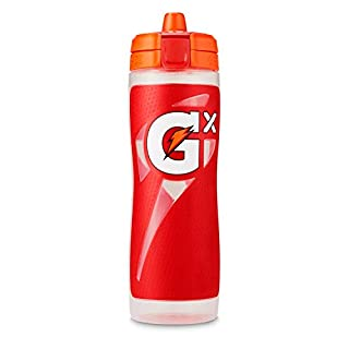 Gatorade Gx Bottle, Red, For use with Gatorade Gx Pods, 30 Ounces