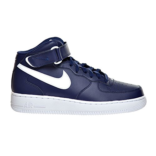 White Air '07 Force 407 Midnight Nike M D Chaussures 1 Navy Mid US Homme 12 315123 pqFnH